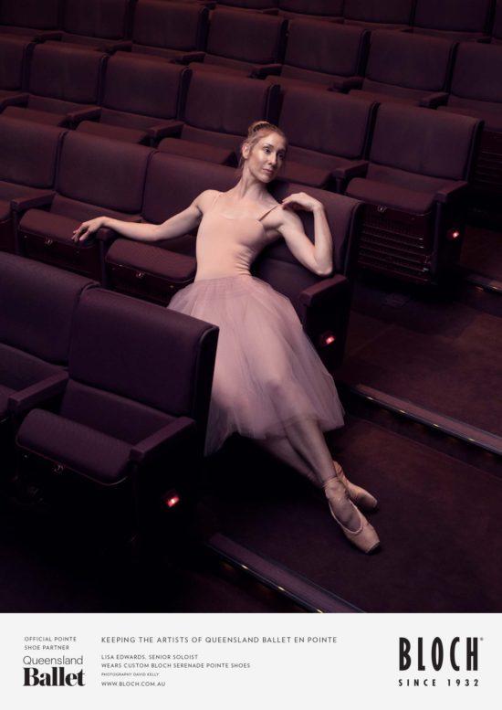 Queensland Ballet Bloch advert