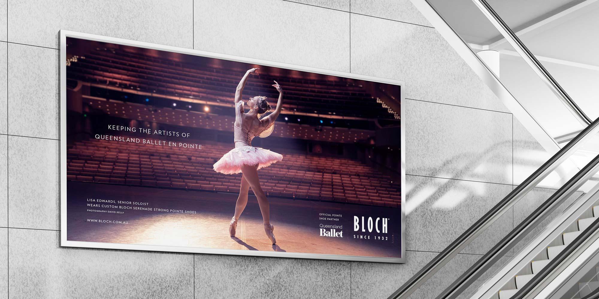 Queensland Ballet billboard